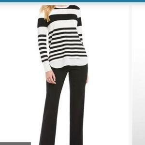 Calvin Klein Stripe Sweater NWT